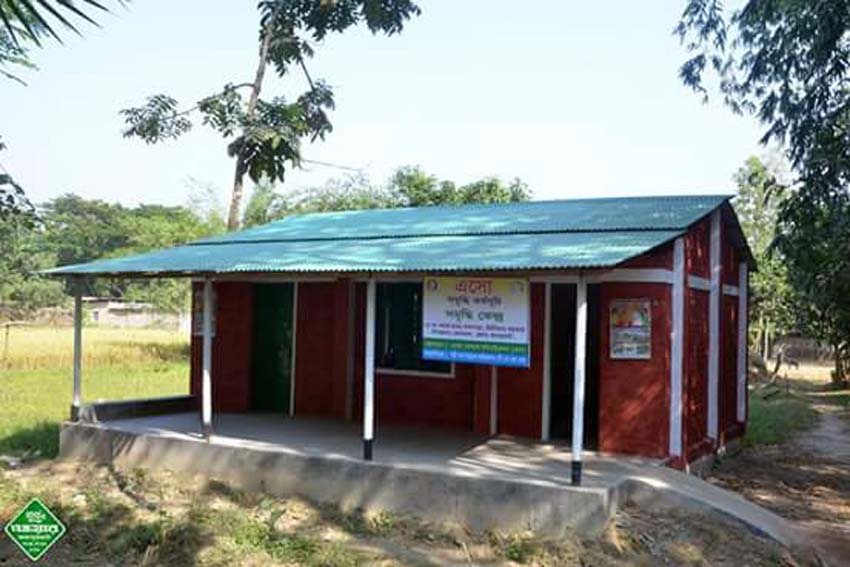 An ENRICH Centre constructed in Joypurhat